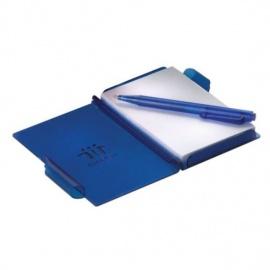 Petit carnet de poche rigide avec stylo