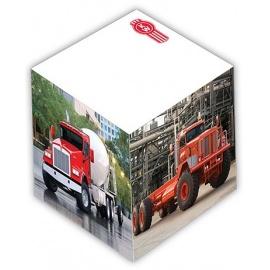 Grand cube papier imprimé qualité photo