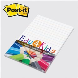 Feuillet POST-IT ® 4 x 6 po 25 feuilles