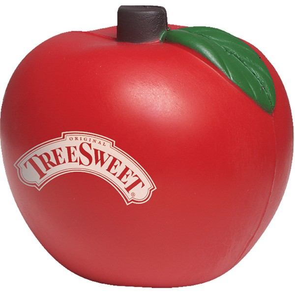 Balle anti-stress en forme de pomme
