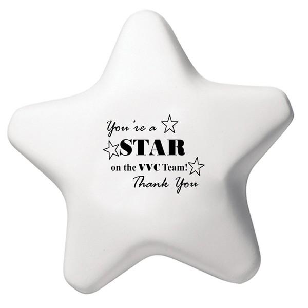 Balle anti-stress en forme d'étoile