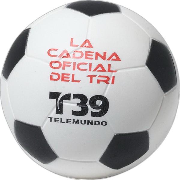 Balle anti-stress en forme de ballon de soccer