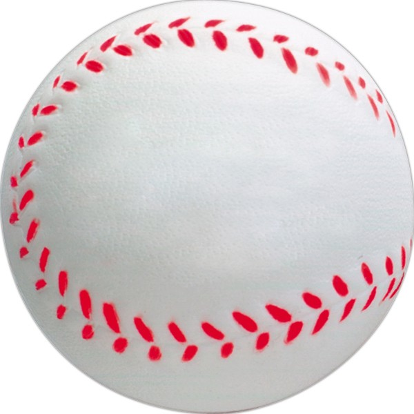 Balle anti-stress en forme de balle de baseball