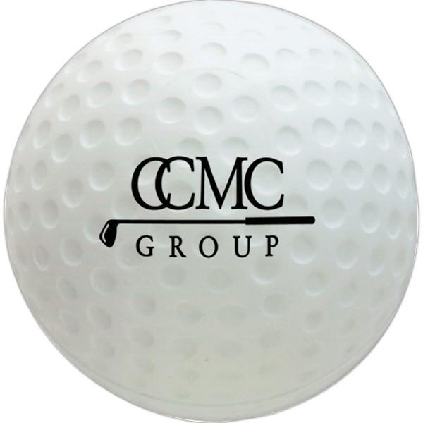 Balle anti-stress en forme de balle de golf