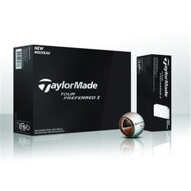 TaylorMade® TOUR PREFERRED X balles de golf