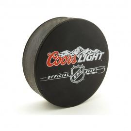 Rondelle de hockey avec impression en quadrichromie