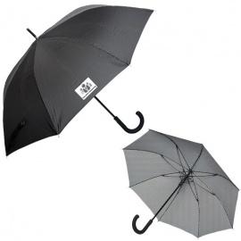 Parapluie exécutif à fines rayures