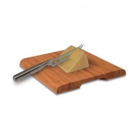 SWISSMAR™ Planche en bambou avec couteau