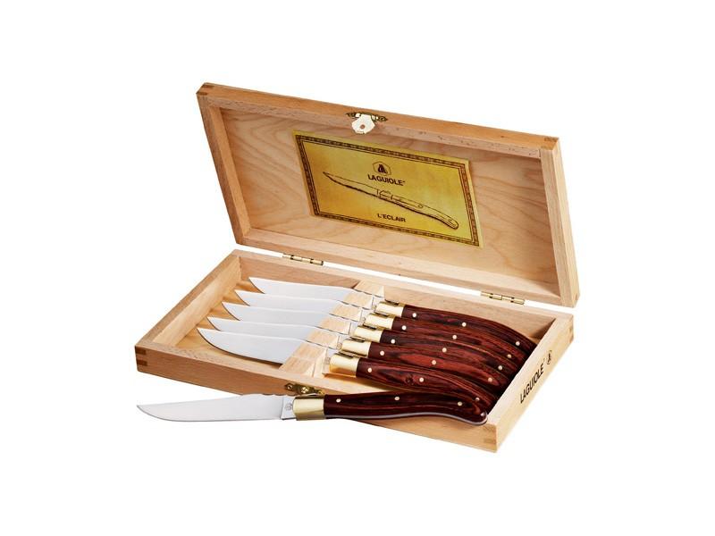 Laguiole™ Ensemble de 6 couteaux à steak