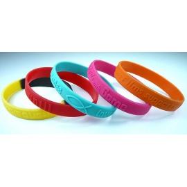 Bracelet Adulte avec gaufrage en relief