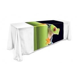 Chemin de table nappe 8 pi. avec impression pleines couleurs