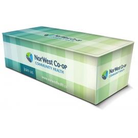 Nappe 8 pi. BOX FIT avec impression pleines couleurs
