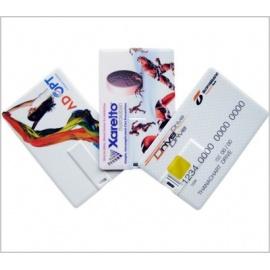 Clé USB en forme de carte de crédit