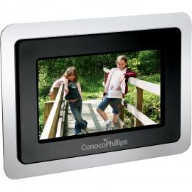 Cadre numérique avec écran LCD de 7 po.