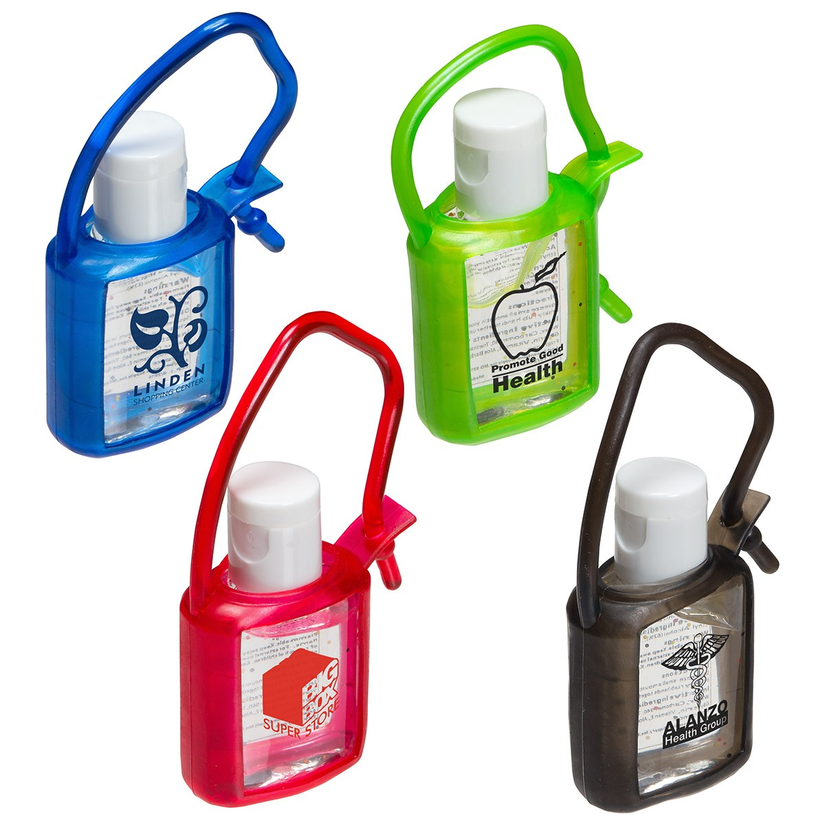 Cool clip désinfectant à mains