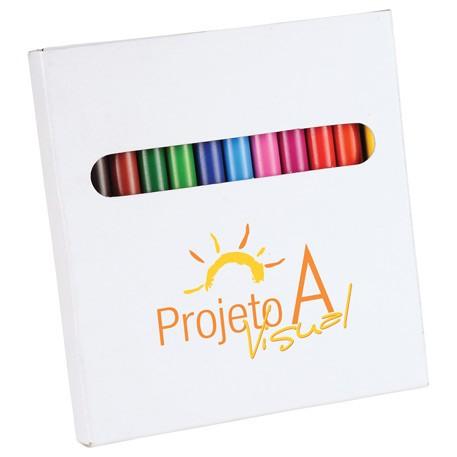 Ensemble de crayons à colorier 12 pièces