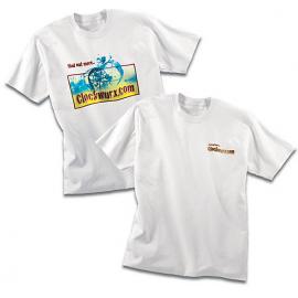 T-shirt blanc adulte - IMPRESSION DIGITALE
