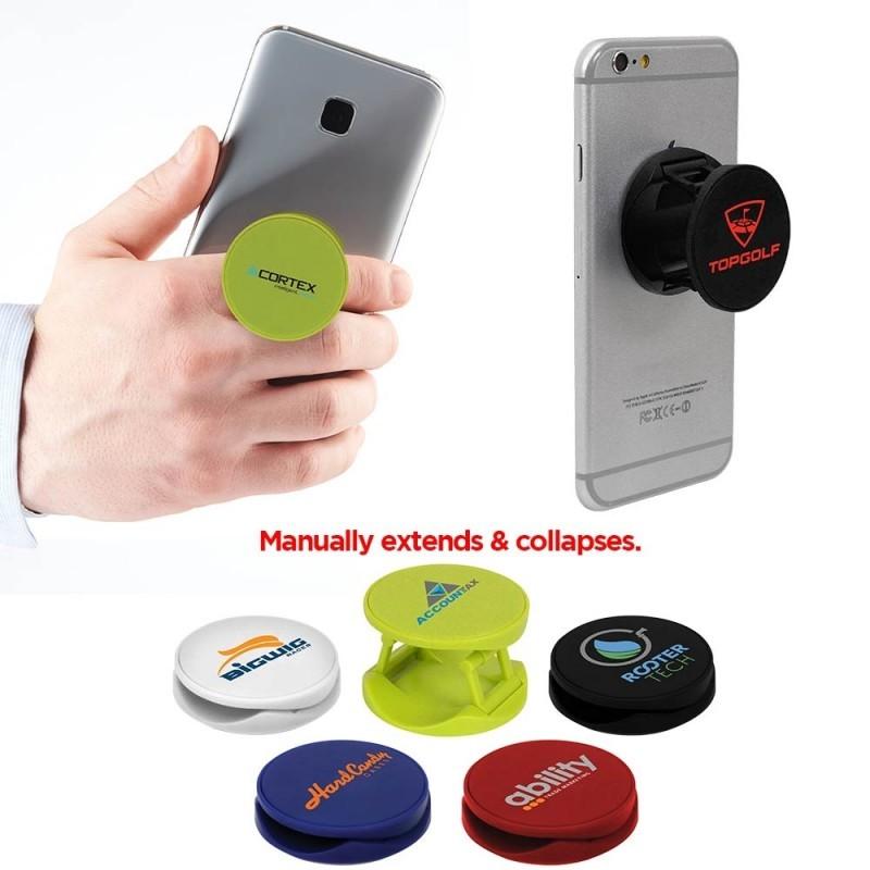 Support à téléphone rond à disque extensible