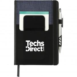 Carnet de notes avec pochette pour téléphone