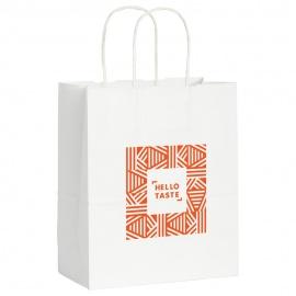 Petit sac en papier kraft blanc