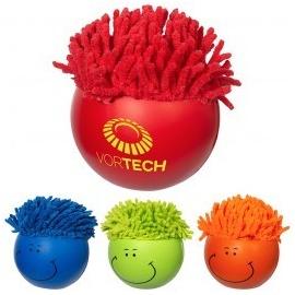 Balle anti-stress à micro-fibre