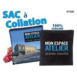 Sac à collation sublimé