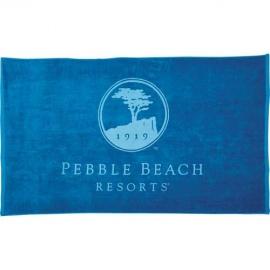 Serviette de plage colorée coton 10.5 lbs.